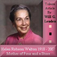 Helen R. Walton, Mother of Four and a Store.